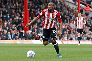 Brentford Midfielder Kamohelo Mokotjo (12) during the EFL Sky Bet Championship match between Brentford and Ipswich Town at Griffin Park, London, England on 7 April 2018. Picture by Andy Walter.