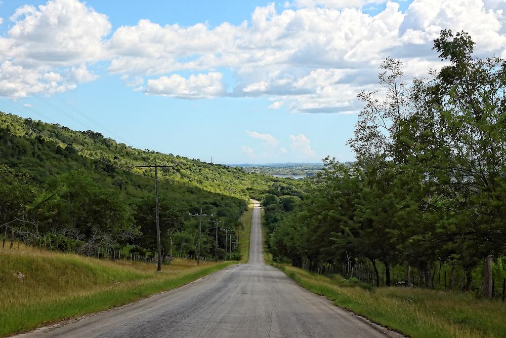 The road to Costa Rica, a small town in Guantanamo Province, Cuba.