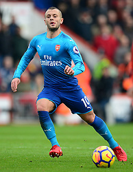 Jack Wilshere of Arsenal - Mandatory by-line: Alex James/JMP - 14/01/2018 - FOOTBALL - Vitality Stadium - Bournemouth, England - Bournemouth v Arsenal - Premier League