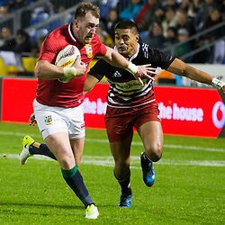 Stuart Hogg, Toll Stadium, Whangarei game 1 of the British and Irish Lions 2017 Tour of New Zealand,The match between Provincial Union Team and British and Irish Lions,Saturday 3rd June 2017   <br /> <br /> (Photo by Kevin Booth Steve Haag Sports)<br /> <br /> Images for social media must have consent from Steve Haag