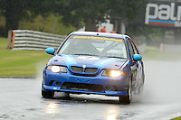 #7 Ashley Woodward MG ZR 180 during the MGCC Cockshoot Cup at Oulton Park, Little Budworth, Cheshire, United Kingdom. September 03 2016. World Copyright Peter Taylor/PSP.