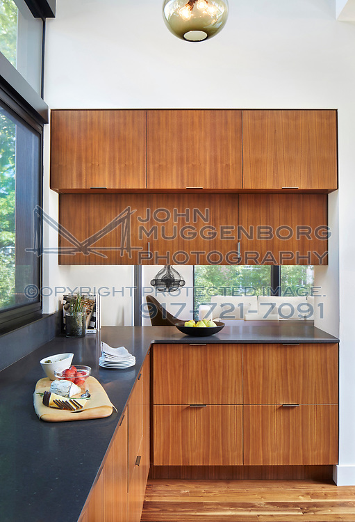 A home in Princeton, NJ designed by Dowling Studios Architecture. Photographed by John Muggenborg.