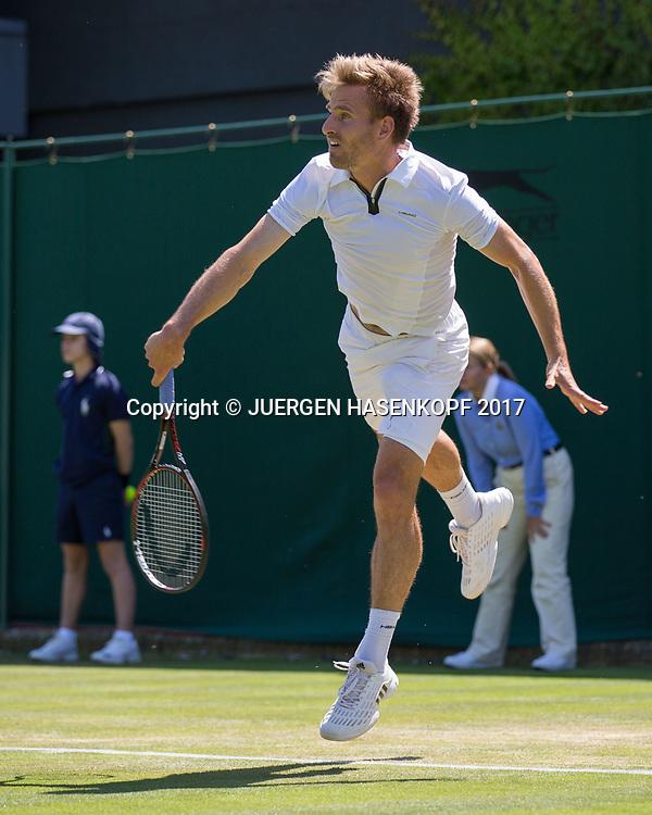 PETER GOJOWCZYK (GER)<br /> <br /> Tennis - Wimbledon 2016 - Grand Slam ITF / ATP / WTA -  AELTC - London -  - Great Britain  - 5 July 2017.
