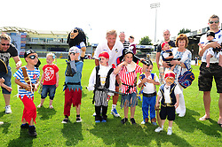 Pirate Fancy Dress competition - Photo mandatory by-line: Dougie Allward/JMP - Tel: Mobile: 07966 386802 21/07/2013 - SPORT - FOOTBALL - Bristol -  Bristol Rovers Fun Day