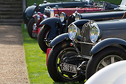© Licensed to London News Pictures. 05/09/2013. London, UK. Classic cars are seen at the St James's Concours of Elegance classic car event at Royal Gardens of St James's Palace in London today (05/09/2013). The event, which alternates each year between Windsor Castle and St James's Palace, features sixty rare cars from across the world and takes place over the next three days. Photo credit: Matt Cetti-Roberts/LNP