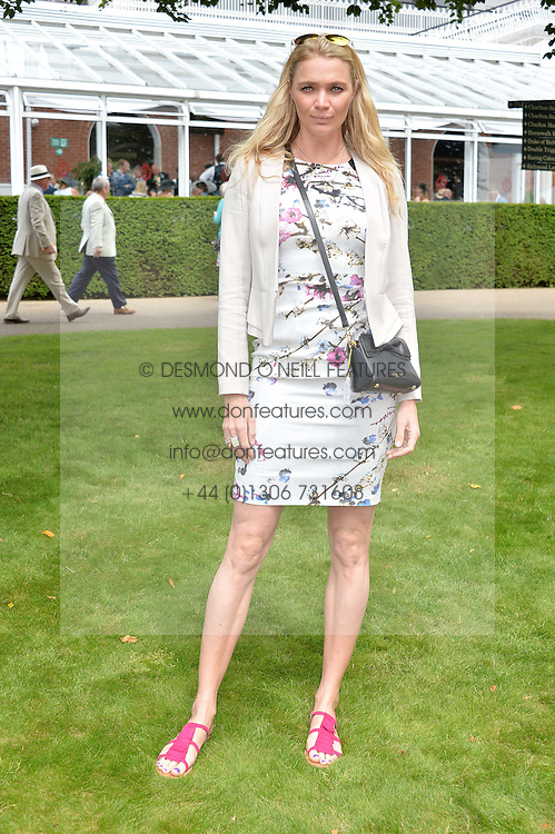 JODIE KIDD at day 3 of the Qatar Glorious Goodwood Festival at Goodwood Racecourse, Chechester, West Sussex on 28th July 2016.