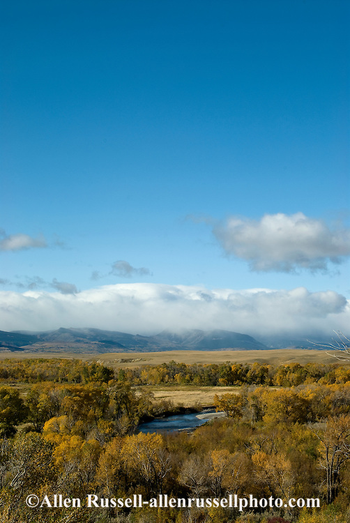 Rocky Mountain Front, Birch Creek, southern border Blackfeet Indian Reservation, Montana