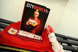 A general view inside the changing room prior to kick-off- Mandatory by-line: Nizaam Jones/JMP- 31/03/2019 - FOOTBALL - Stoke Gifford Stadium - Bristol, England - Bristol City Women v Reading Women - FA Women's Super League 1