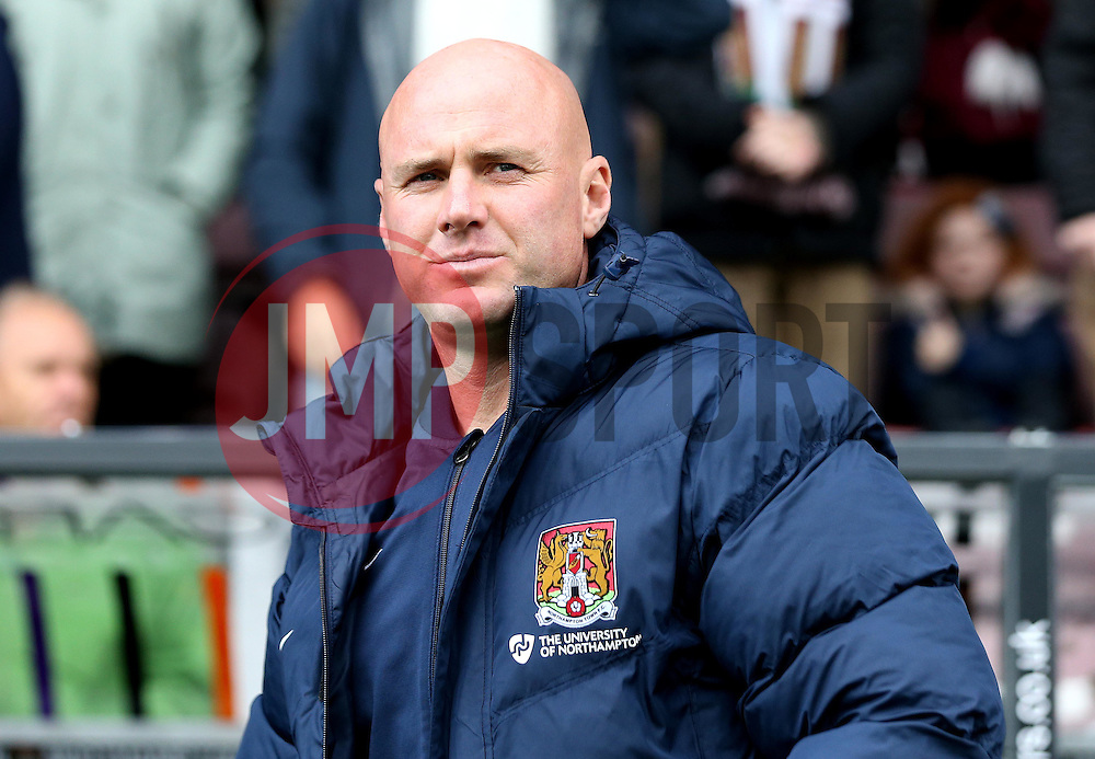 Northampton Town manager Robert Page - Mandatory by-line: Robbie Stephenson/JMP - 01/10/2016 - FOOTBALL - Sixfields Stadium - Northampton, England - Northampton Town v Bristol Rovers - Sky Bet League One