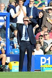 Queens Park Rangers Manager, Harry Redknapp - Photo mandatory by-line: Dougie Allward/JMP - Mobile: 07966 386802 - 19/10/2014 - SPORT - football - London - Loftus Road - QPR v Liverpool - Barclays Premier League