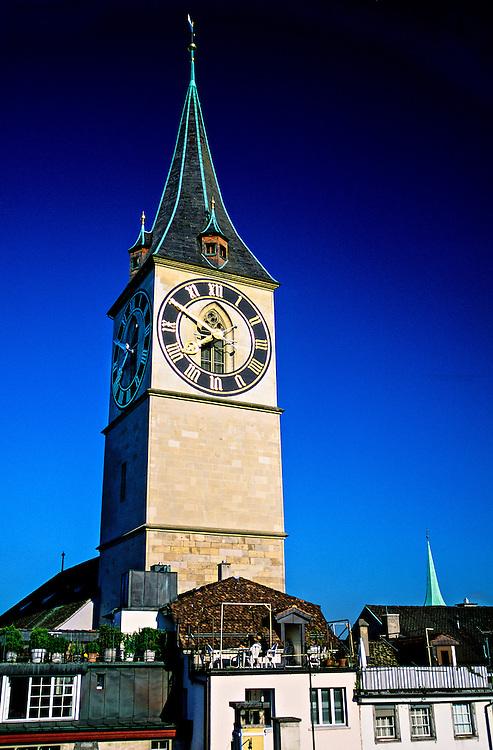 St. Peter's kirche (church), Zurich, Switzerland