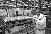 Manufacturing fuel rods for Magnox Nuclear Power Stations at British Nuclear Fuels Springfield site nr Preston