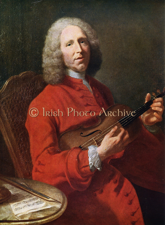 Jean-Philippe Rameau (1683-1764)  French composer and musical theorist.