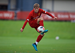 KIRKBY, ENGLAND - Saturday, August 31, 2019: Liverpool's Leighton Clarkson during the Under-18 FA Premier League match between Liverpool FC and Manchester United at the Liverpool Academy. (Pic by David Rawcliffe/Propaganda)