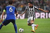 Ricardo Carvalho Monaco, Carlos Tevez Juventus <br /> Torino 14-04-2015 Juventus Stadium Football Uefa Champions League 2014/2015 Juventus - Monaco  . Foto Andrea Staccioli / Insidefoto