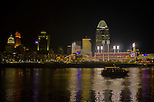 Cincinnati Skyline and Great American Ballpark - To View or Order Prints, Click on Photo