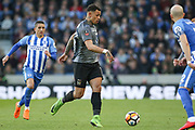 Coventry City player Jonson Clarke-Harris (18) during the The FA Cup match between Brighton and Hove Albion and Coventry City at the American Express Community Stadium, Brighton and Hove, England on 17 February 2018. Picture by Phil Duncan.