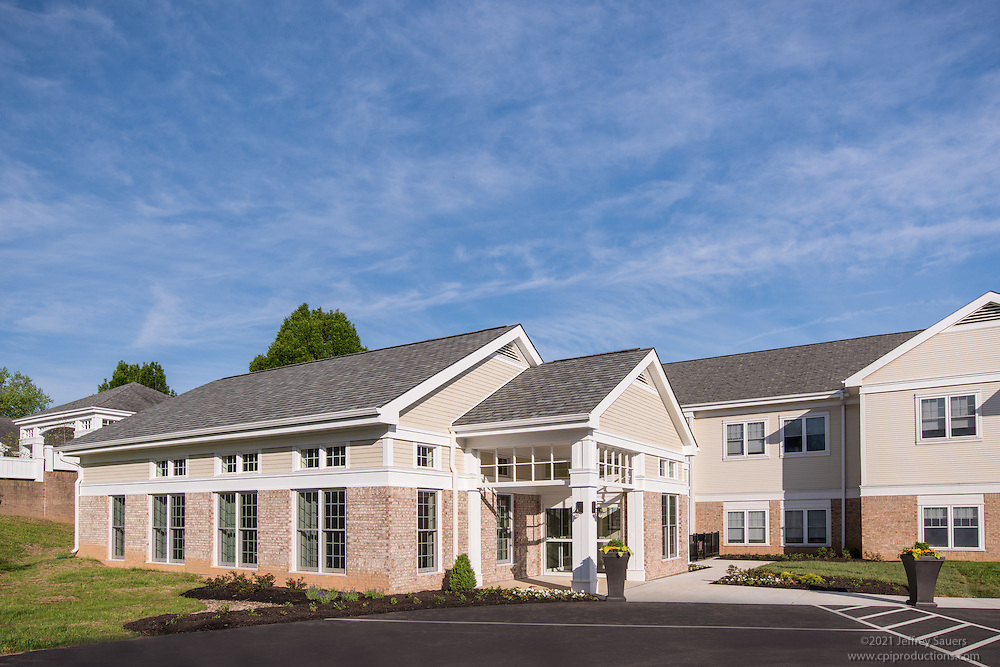 Exterior image of  Integrace Copper Ridge in Sykesville Maryland by Jeffrey Sauers of Commercial Photographics, Architectural Photo Artistry in Washington DC, Virginia to Florida and PA to New England
