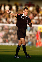 Photo: Leigh Quinnell.<br /> Milton Keynes Dons v Barnet. Coca Cola League 2. 20/01/2007. Referee Andre Marriner.