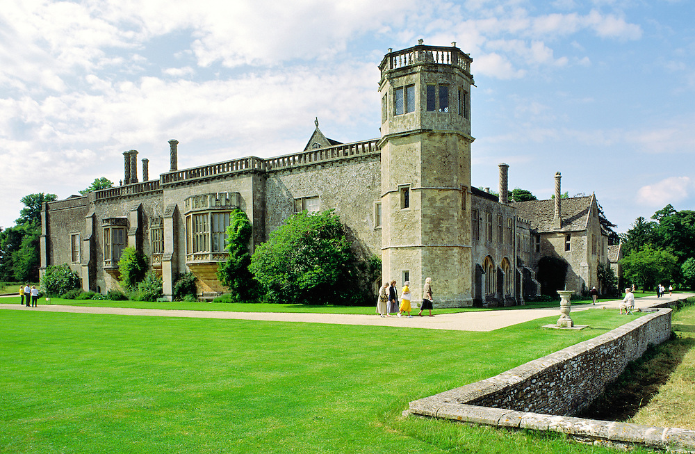 Lacock Abbey, Wiltshire, England. Once home of pioneer photographer William Henry Fox Talbot.