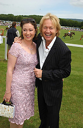 ROBRET & MAGGIE HART he was in rock group Bad Company at the Kuoni World Class Polo Day held at Hurtwood Park Polo Club, Surrey on 29th May 2005.<br /><br />NON EXCLUSIVE - WORLD RIGHTS