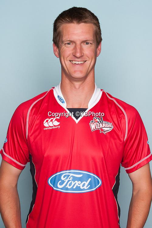 Struan George, Canterbury Wizards headshots for the 2012/2013 season. New Zealand domestic cricket. Photo: Canterbury Cricket