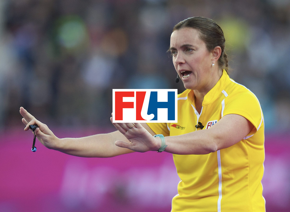 LONDON - Olympische Spelen 2012.women match.Great Britain v Japan..foto: Umpire Iparraguirre..FFU PRESS AGENCY COPYRIGHT FRANK UIJLENBROEK.