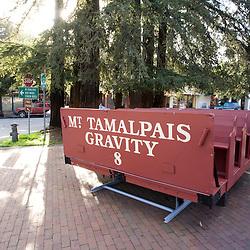 Mt Tamalpais Gravity Train Car