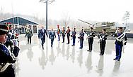 25-3-2015 - SOEST - generaal Tom Middendorp Koning Willem Alexander is woensdag 25 maart 2015 aanwezig bij de afsluiting van de Future Force Conference 2015 in het Nationaal Militair Museum in Soest. Voorafgaand aan de afsluiting ontvangt de Koning de opperbevelhebber van de NAVO-strijdkrachten (Saceur), generaal Philip Breedlove in het museum in audi&euml;ntie. COPYRIGHT ROBIN UTRECHT<br /> 25-3-2015 - SOEST - King Willem Alexander is Wednesday, March 25, 2015 attends at the conclusion of the Future Force 2015 Conference in the National Military Museum in Soest. King receives the commander of NATO forces (SACEUR), General Philip Breedlove in the museum audience. COPYRIGHT ROBIN UTRECHT