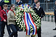 Nationale Dodenherdenking 2017 op de dam in Amsterdam. /// National Remembrance Day 2017 on the dam in Amsterdam.