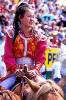 Mongolie, Oulaan Bator, Fête du Naadam // Mongolia, Ulaan Bator, Naadam festival