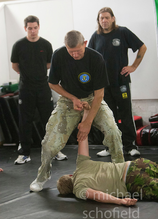 Institute Of Krav Maga Scotland Systema seminar. Alexander Maksimtsov, President of Federation of Russian Martial Art Ukraine (www.frbiu.kiev.ua) and Chief instructor of Police SpetsNaz, held a class in Battlefield Gym Glasgow on Monday 15th August..©pic : Michael Schofield.