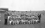 GAA All Ireland Minor Football Final Kerry v Mayo 23rd September 1962 Croke park...The Kerry Minor team winners with the cup after defeating Mayo. ..23.9.1962  23rd September 1962..All Ireland SFC - Final.Kerry 1-12 | Roscommon 1-6.Time: Unknown, Venue: Croke Park.Referee: E. Moules (Wicklow).Captain: S.g Sheehy..Attendance: 75,771