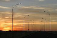 Ponte rodoferrovi&aacute;ria que liga o estado de S&atilde;o Paulo ao estado do Mato Grosso.<br /> Foto: Daniel Guimar&atilde;es/Ritratto