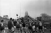 02/03/1974<br /> 03/02/1974<br /> 02 March 1974<br /> Rugby International: Ireland v Scotland at Lansdowne Road, Dublin. Ireland won the game 9-6.