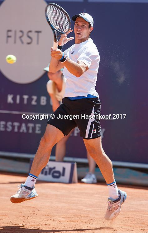 FACUNDO BAGNIS (ARG)<br /> <br /> Tennis - Generali-Kitzbuehel-Open2017 - ATP 250 -  Kitzbuehler Tennis Club - Kitzbuehel - Tirol - Oesterreich  - 1 August 2017. <br /> &copy; Juergen Hasenkopf