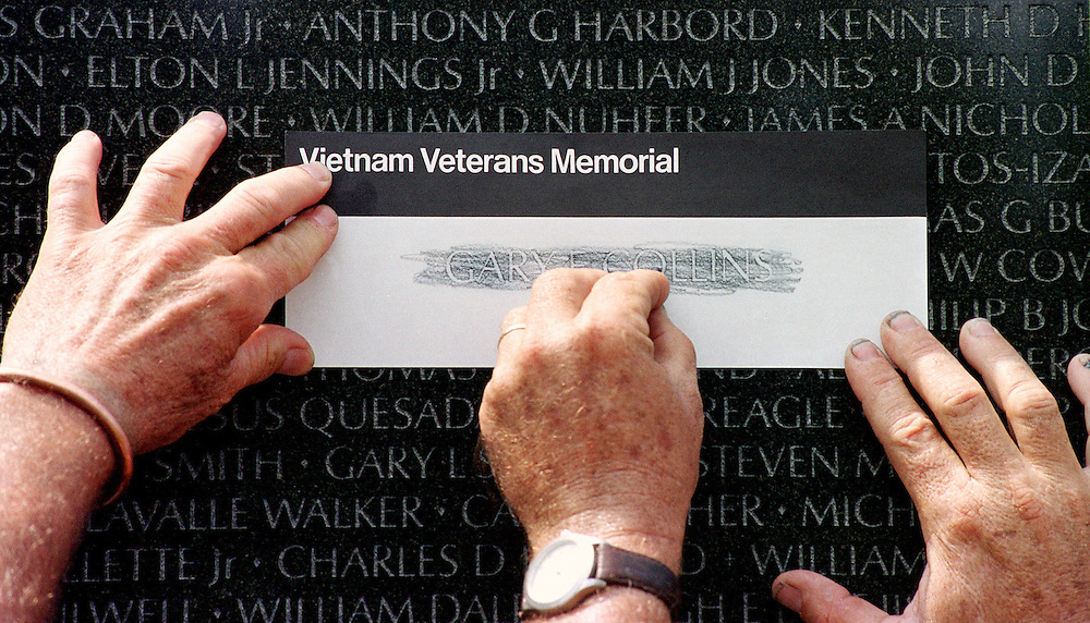 Memorial Day at the Vietnam War Memorial