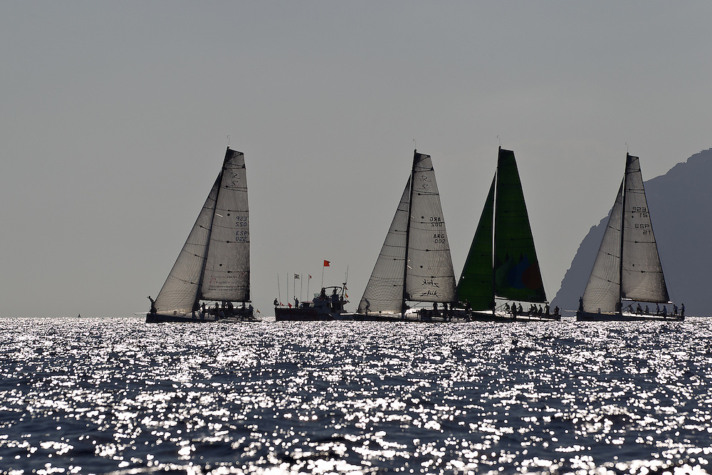 SPAIN, Cartagena. 25th August 2011. AUDI MedCup, Region of Murcia Cartagena Trophy. Soto 40 start.