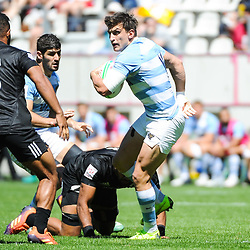 Luciano Gonzalez of Argentina during the match between Argentina and New Zealand at the HSBC Paris Sevens, stage of the Rugby Sevens World Series on June 2, 2019 in Paris, France. (Photo by Sandra Ruhaut/Icon Sport)