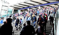 Fans arrive at Wembley for the FA Cup Final  - Mandatory by-line: Robbie Stephenson/JMP - 21/05/2016 - FOOTBALL - Wembley Stadium - London, England - Crystal Palace v Manchester United - The Emirates FA Cup Final