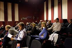 Franci Pavser, Boris Licof  na okrogli mizi o izzivih slovenske kosarke na podrocju dela z mladimi, ki bodo v nekaj letih zastopali tudi barve slovenske vrhunske kosarke  v organizaciji drustva SportForum Slovenija, 4.  oktober 2010, Dvorana Mercurius, BTC, Ljubljana, Slovenija. (Photo by Vid Ponikvar / Sportida)