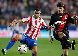 30.09.2010, Vicente Calderon Stadion, Madrid, UEFA EL, Atletico de Madrid vs Bayer 04 Leverkusen, im Bild Bayer Leverkusen's  Tranquilo Barnetta during UEFA Europe League. EXPA Pictures © 2010, PhotoCredit: EXPA/ Alterphotos/ Cesar Cebolla +++++ ATTENTION - OUT OF SPAIN / ESP +++++