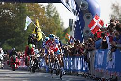 Robert Kiserlovski (Croatia) during the Men's Elite Road Race at the UCI Road World Championships on September 25, 2011 in Copenhagen, Denmark. (Photo by Marjan Kelner / Sportida Photo Agency)