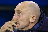 Ian Holloway Manager of Millwall during the Sky Bet Championship match at The Den, London<br /> Picture by David Horn/Focus Images Ltd +44 7545 970036<br /> 19/12/2014
