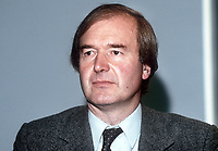 Nicholas Lyell, MP, junior health minister, Conservative Party, UK, September 1986. 19861012NL1<br />