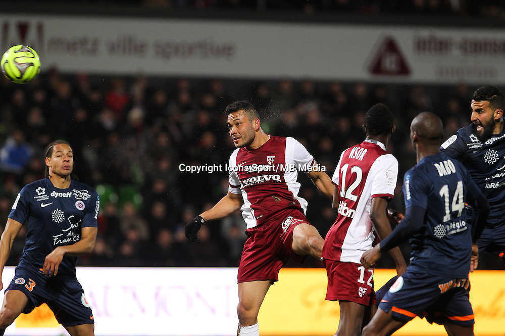 FALCON - 17.01.2015 - Metz / Montpellier - 21eme journee de Ligue 1<br />Photo : Fred Marvaux / Icon Sport
