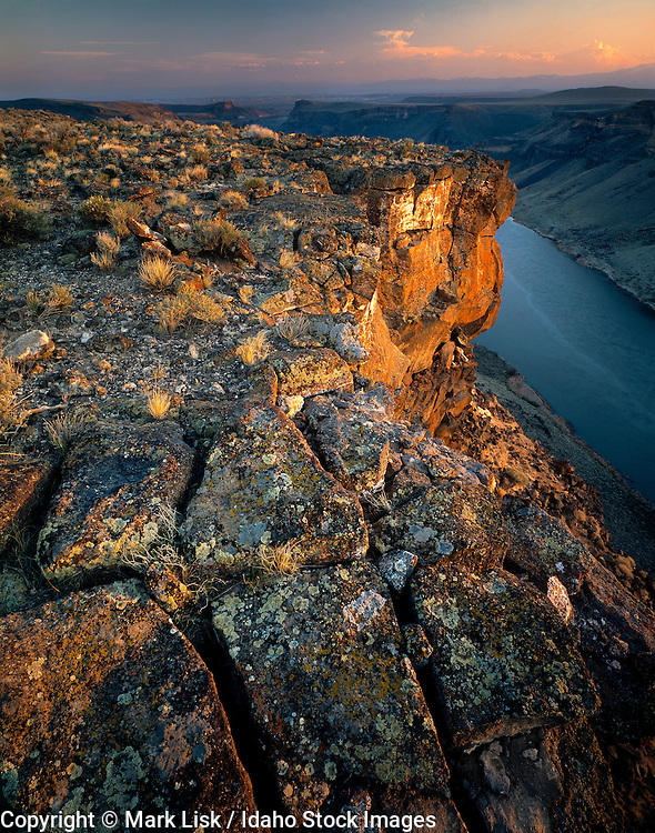 Idaho. Overlooking the Snake River Birds of Prey Area.