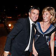 NLD/Utrecht/20100923 - NFF 2010, premiere Richting West, Viggo Waas en partner Marissa Post