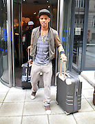 07.AUGUST.2012. LONDON<br /> <br /> FAZER LEAVING HIS HOTEL IN LIVERPOOL.<br /> <br /> BYLINE: EDBIMAGEARCHIVE.CO.UK<br /> <br /> *THIS IMAGE IS STRICTLY FOR UK NEWSPAPERS AND MAGAZINES ONLY*<br /> *FOR WORLD WIDE SALES AND WEB USE PLEASE CONTACT EDBIMAGEARCHIVE - 0208 954 5968*