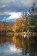 Autumn mood with reflections   Høststemning med refleksjon